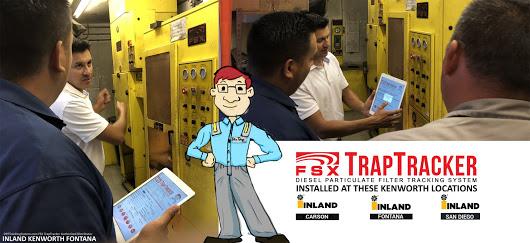FSX TrapTracker at Inland Kenworth Carson Fontana San Diego California