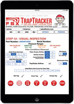 FSX TrapTracker Display