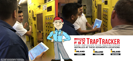 FSX TrapTracker at Inland Kenworth Fontana California