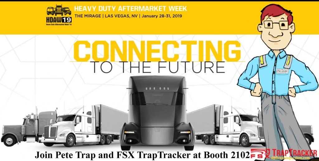 Pete Trap and FSX TrapTracker to Appear at HDAW 2019 Las Vegas Mirage Jan 28-31 Booth 2102